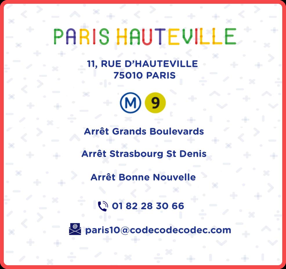 ccc paris 10 infos
